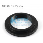 Canon Canon T2 M42x0.75 turn the telescope photography Adapter Ring (improved version)