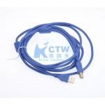 极品USB 2.0线 延长3米 镀金头 适合QHY5-2 各种冷冻CCD